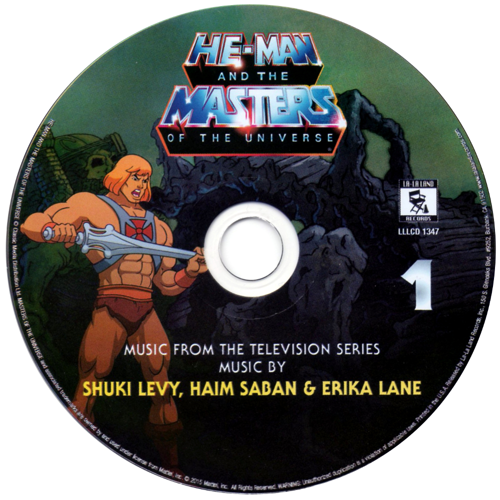 Filmation MOTU OST cd1