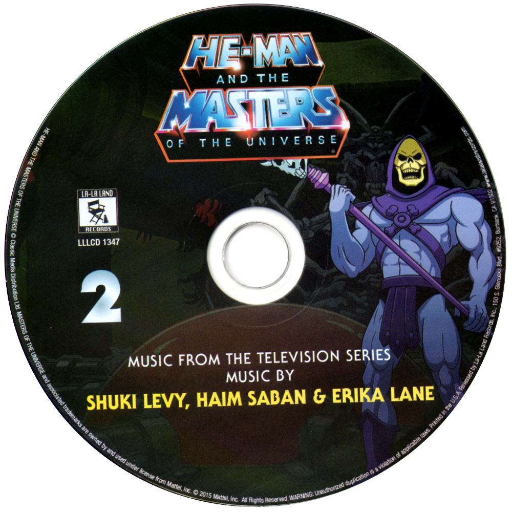 Filmation MOTU OST cd2