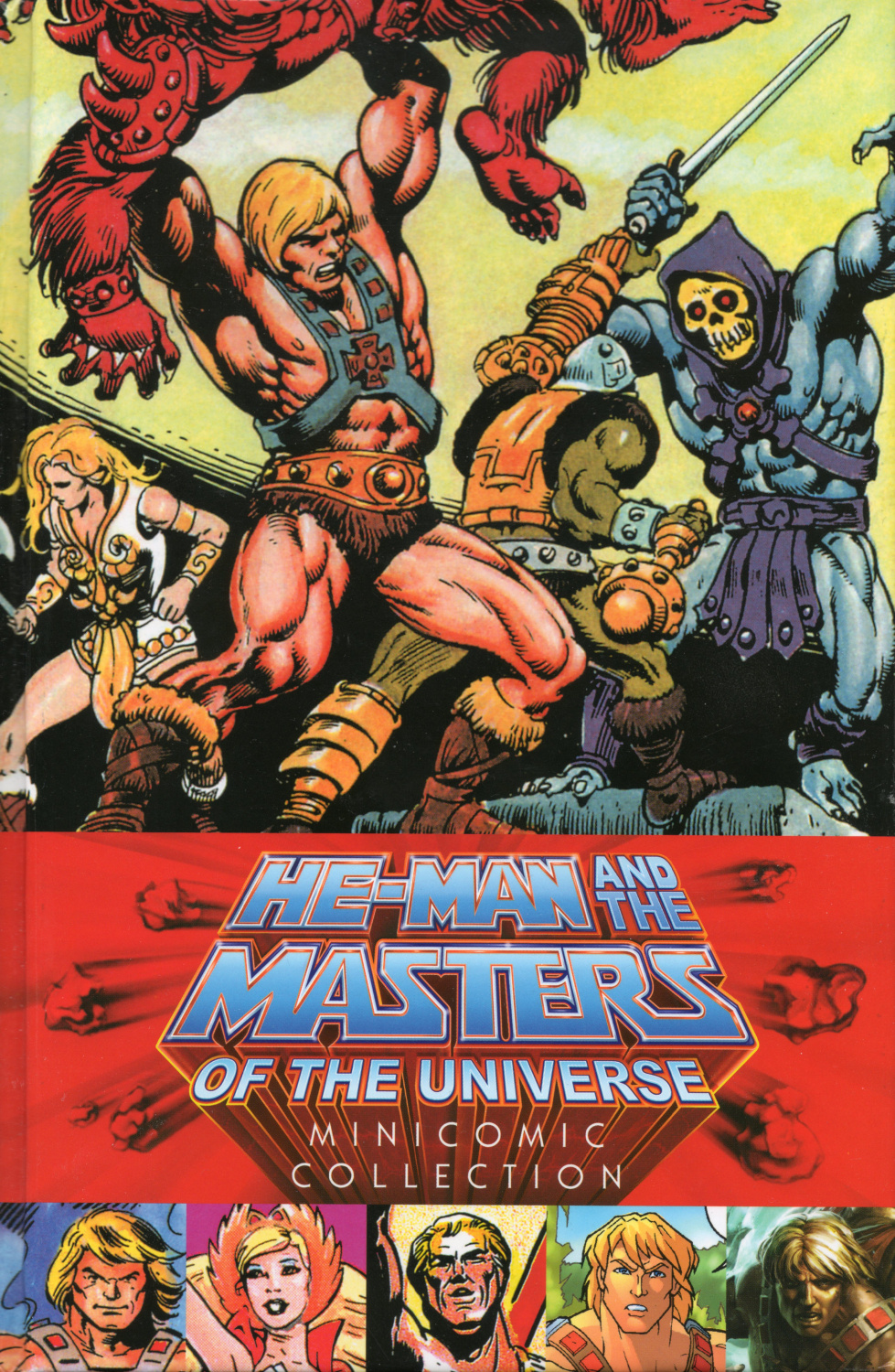 MOTU minicomic collection -etukansi