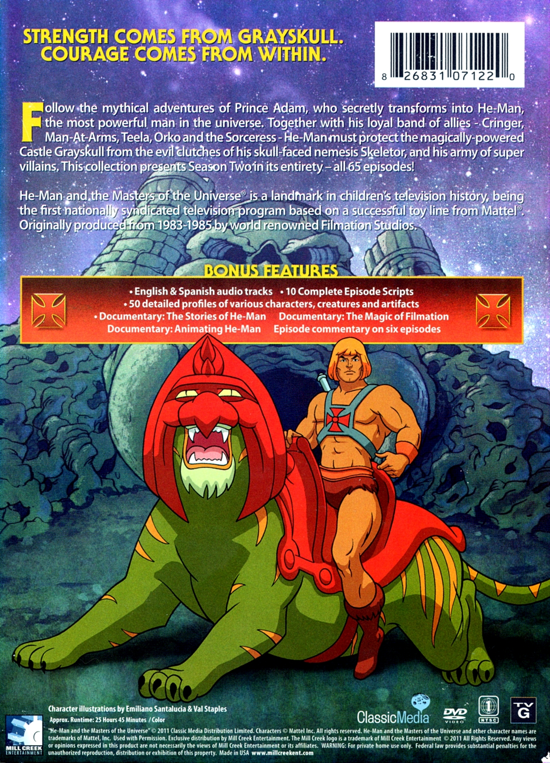 he man and the masters of the universe the complete