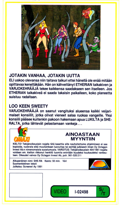 She-Ra VHS 3 takakansi