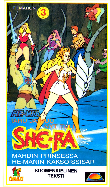 She-Ra VHS 3 etukansi